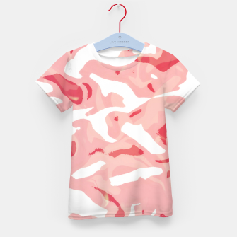 Cute pink camouflage Kid's t-shirt thumbnail image
