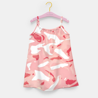 Thumbnail image of Cute pink camouflage Girl's dress, Live Heroes