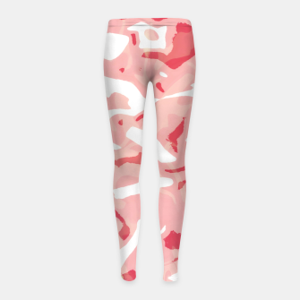 Cute pink camouflage Girl's leggings thumbnail image