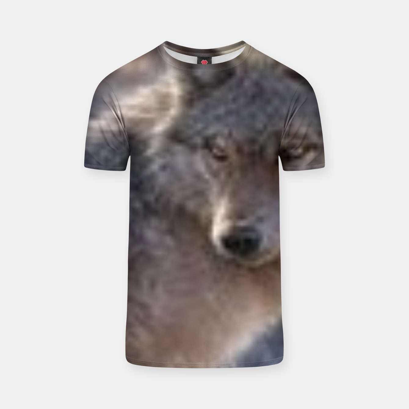 Image of Wolf T-shirt - Live Heroes
