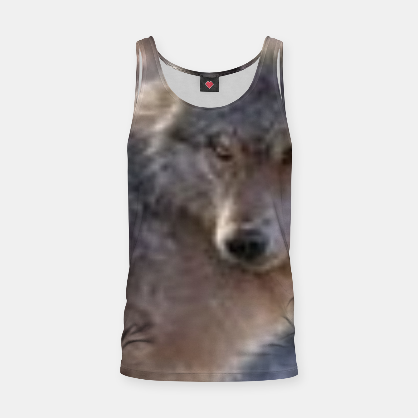 Image of Wolf Tank Top - Live Heroes