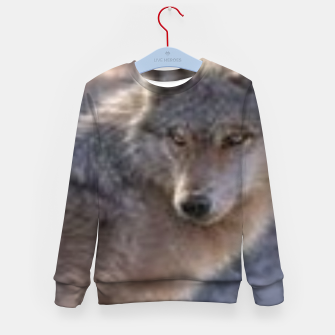 Wolf Kid's sweater thumbnail image