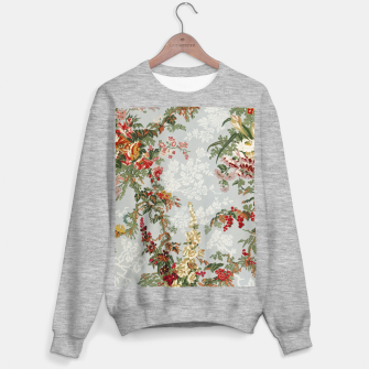 Floral in grey Sweater regular thumbnail image