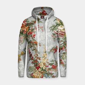 Thumbnail image of Floral in grey Hoodie, Live Heroes