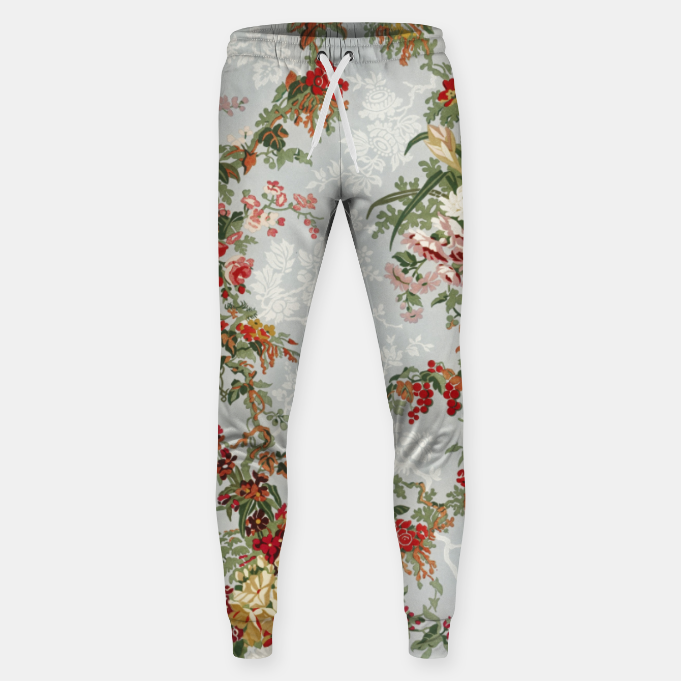 Image of Floral in grey Sweatpants - Live Heroes