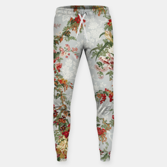 Floral in grey Sweatpants thumbnail image