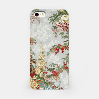 Floral in grey iPhone Case thumbnail image