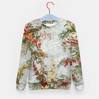Floral in grey Kid's sweater thumbnail image