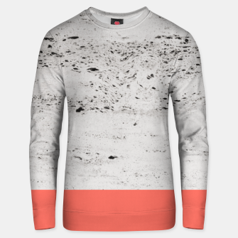 Living Coral on Concrete #1 #decor #art Unisex sweatshirt obraz miniatury
