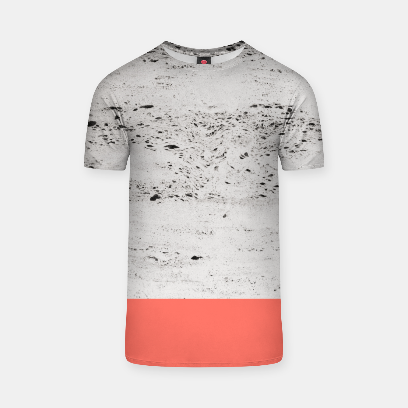 Image of Living Coral on Concrete #1 #decor #art T-Shirt - Live Heroes