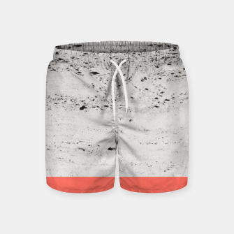 Living Coral on Concrete #1 #decor #art Badeshorts thumbnail image