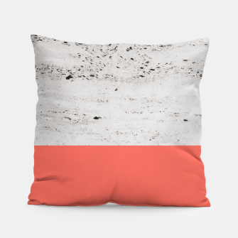 Miniaturka Living Coral on Concrete #1 #decor #art Kissen, Live Heroes