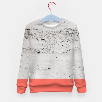 Thumbnail image of Living Coral on Concrete #1 #decor #art Kindersweatshirt, Live Heroes