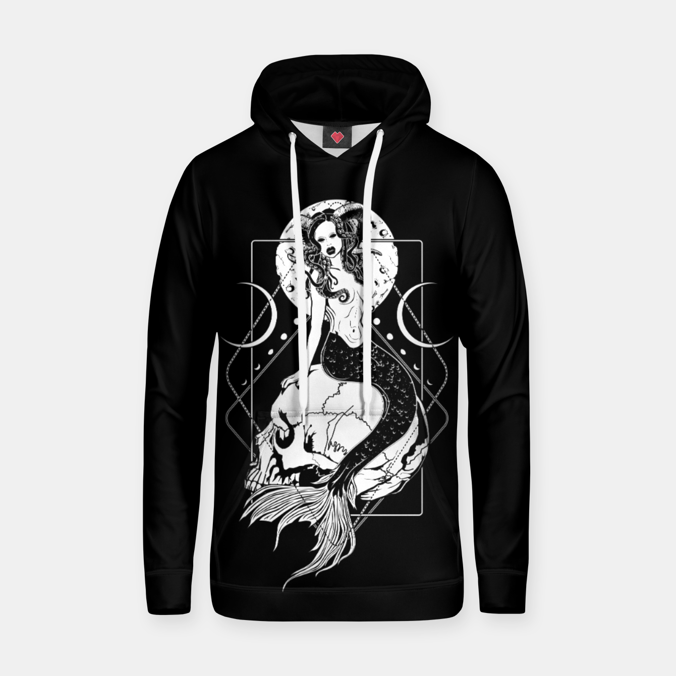 Image of Creepy Mermaid Hoodie - Live Heroes