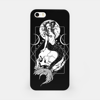 Creepy Mermaid iPhone Case thumbnail image