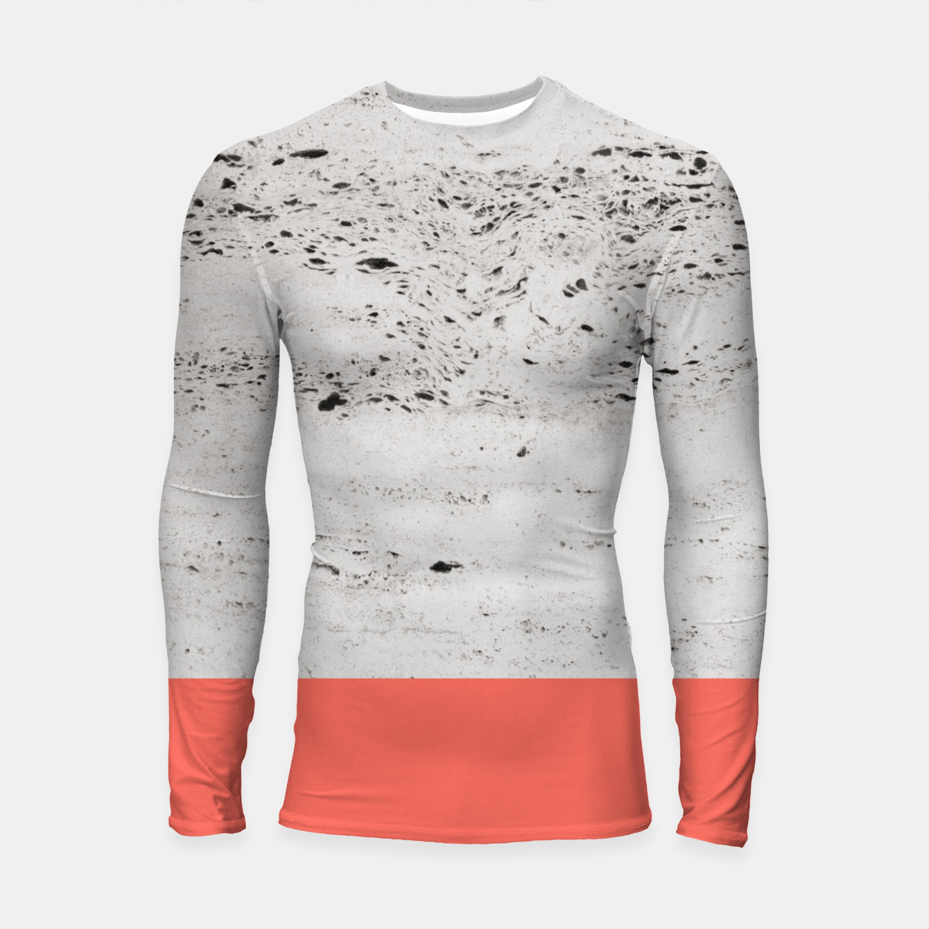 Zdjęcie Living Coral on Concrete #1 #decor #art Longsleeve rashguard - Live Heroes