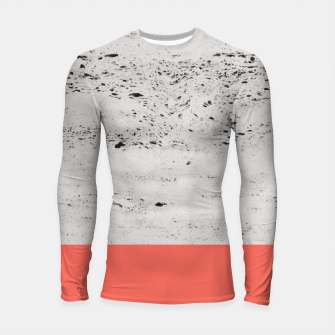 Living Coral on Concrete #1 #decor #art Longsleeve rashguard obraz miniatury
