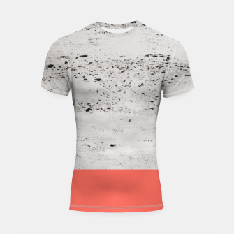 Thumbnail image of Living Coral on Concrete #1 #decor #art Shortsleeve rashguard, Live Heroes
