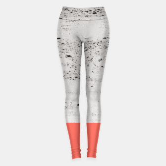 Thumbnail image of Living Coral on Concrete #1 #decor #art Leggings, Live Heroes