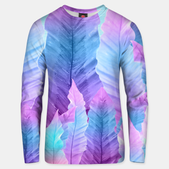 Underwater Leaves Vibes #1 #decor #art Unisex sweatshirt obraz miniatury