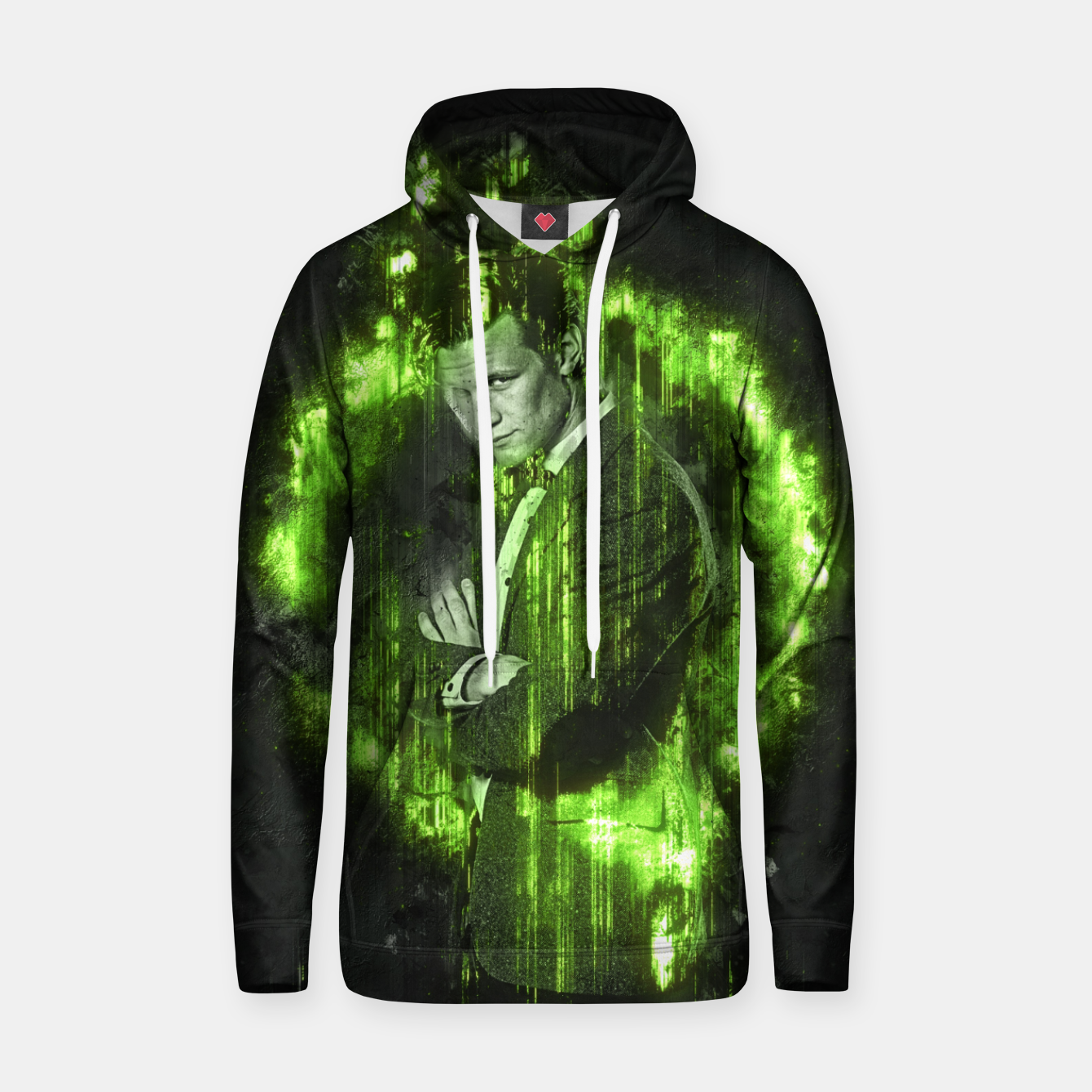 Image of Green Time Sudadera con capucha - Live Heroes