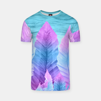 Underwater Leaves Vibes #1 #decor #art T-Shirt thumbnail image