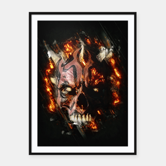 Maul Skull Cartel con marco thumbnail image