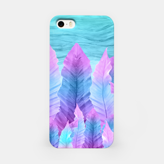 Miniaturka Underwater Leaves Vibes #1 #decor #art iPhone-Hülle, Live Heroes