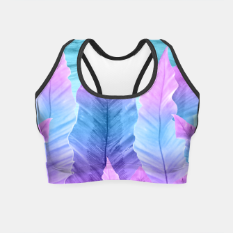 Miniaturka Underwater Leaves Vibes #1 #decor #art Crop Top, Live Heroes