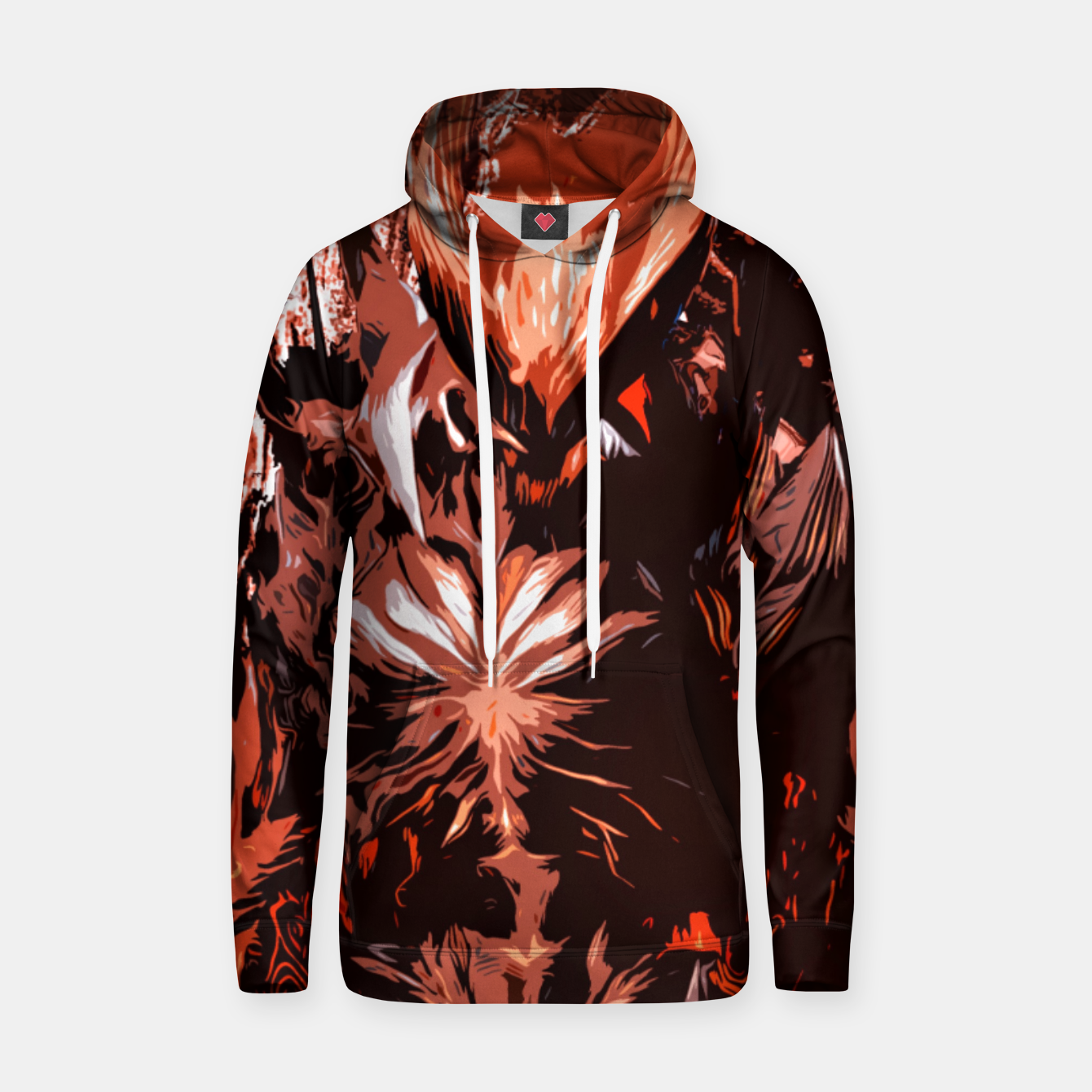 Image of Red Supreme Demon Sudadera con capucha - Live Heroes