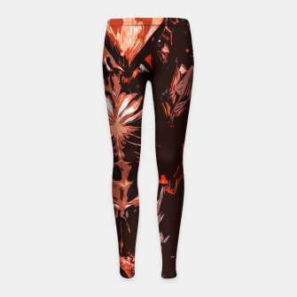 Red Supreme Demon Leggings para niña thumbnail image