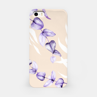 Floral Boho Watercolor Pattern iPhone-Hülle thumbnail image