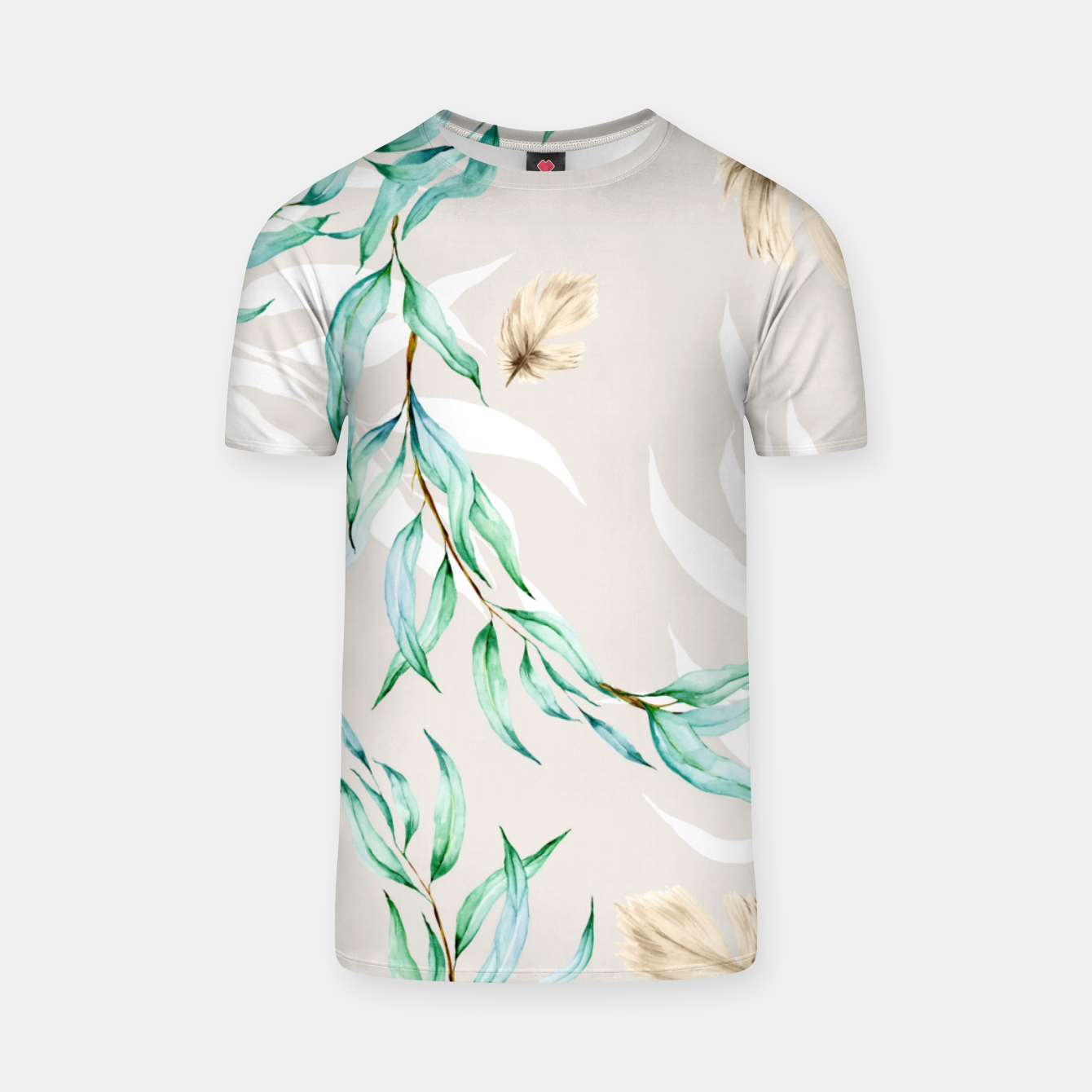 Image of Floral Boho Watercolor Pattern T-Shirt - Live Heroes