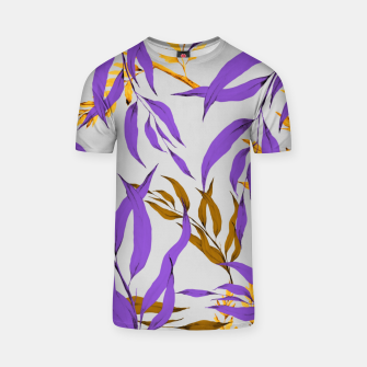 Floral Boho Watercolor Pattern T-Shirt thumbnail image
