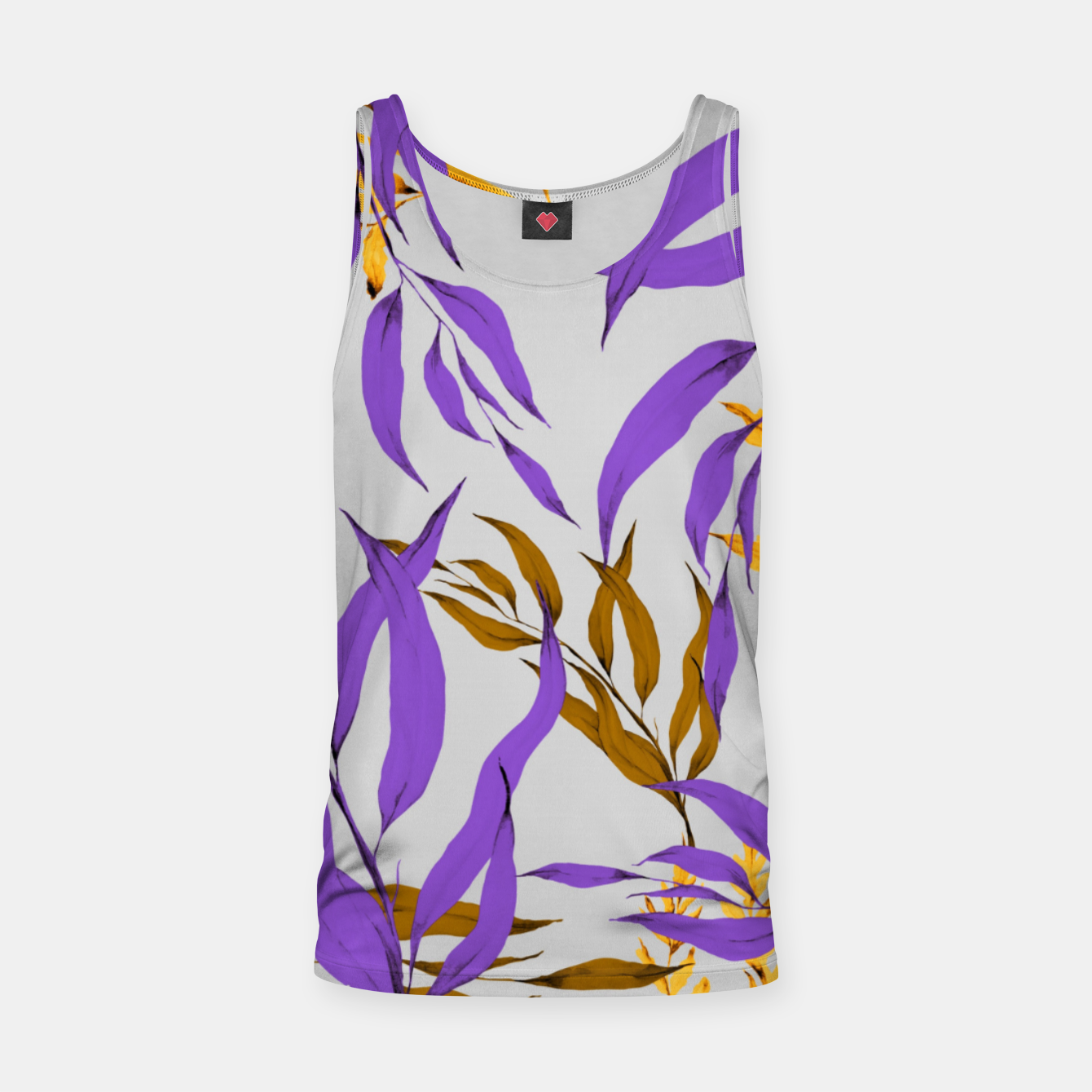 Image of Floral Boho Watercolor Pattern Muskelshirt  - Live Heroes