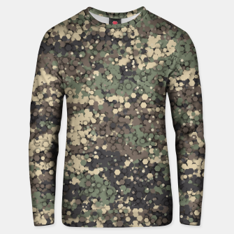 Thumbnail image of Hexagonal camouflage Unisex sweater, Live Heroes