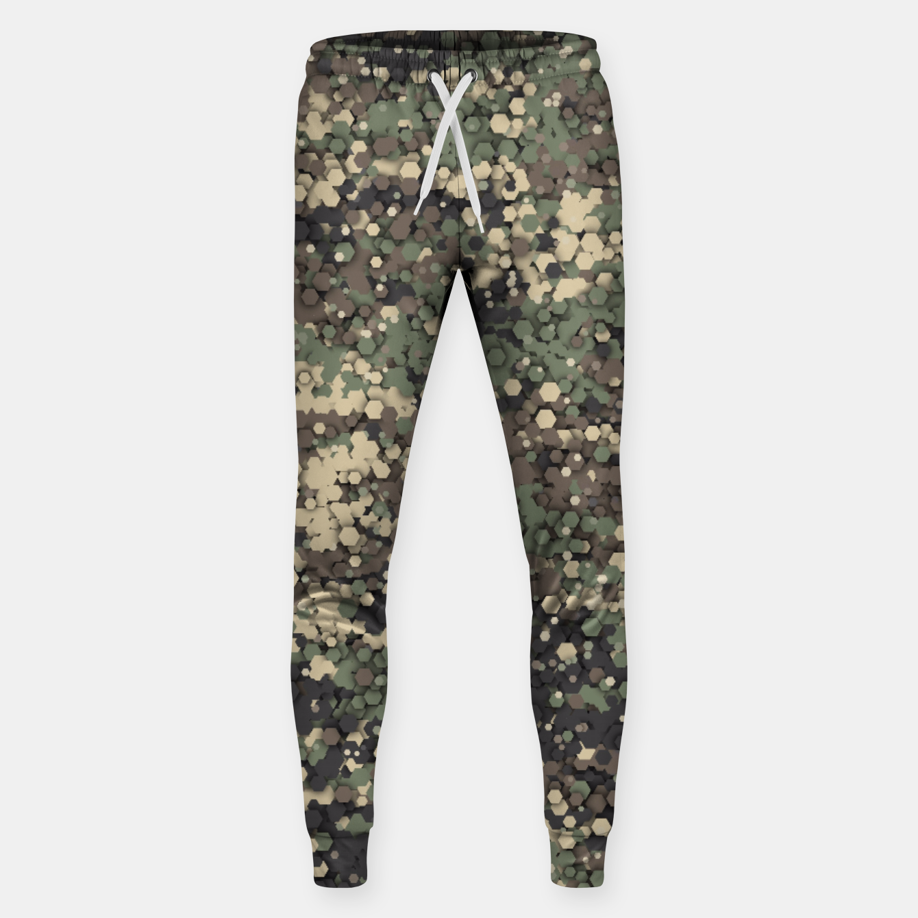 Image of Hexagonal camouflage Sweatpants - Live Heroes