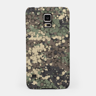 Thumbnail image of Hexagonal camouflage Samsung Case, Live Heroes