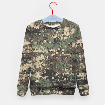 Hexagonal camouflage Kid's sweater thumbnail image