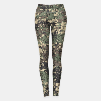 Hexagonal camouflage Leggings thumbnail image
