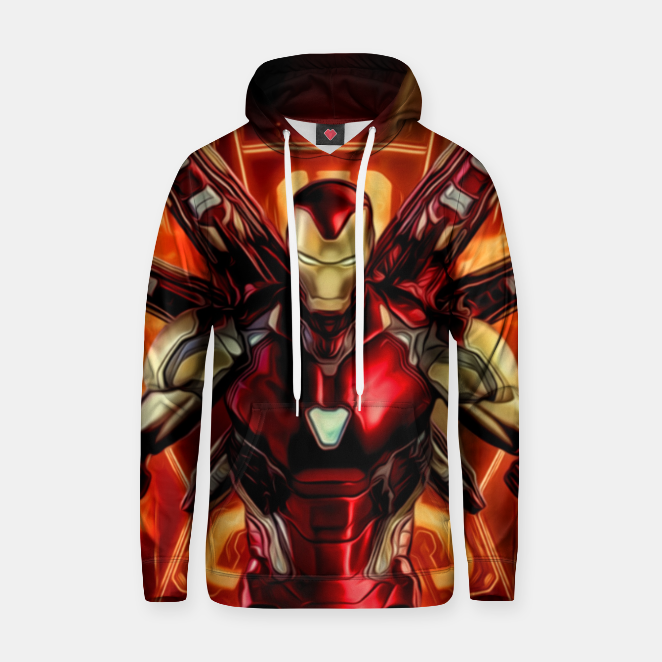 Image of Iron Warrior Sudadera con capucha - Live Heroes