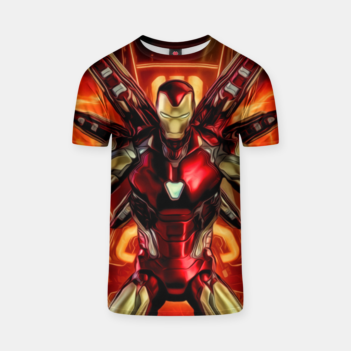 Image of Iron Warrior Camiseta - Live Heroes