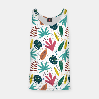 Exotic leaves Camiseta de tirantes thumbnail image