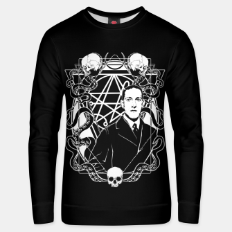 Thumbnail image of H.P. Lovecraft Unisex sweater, Live Heroes