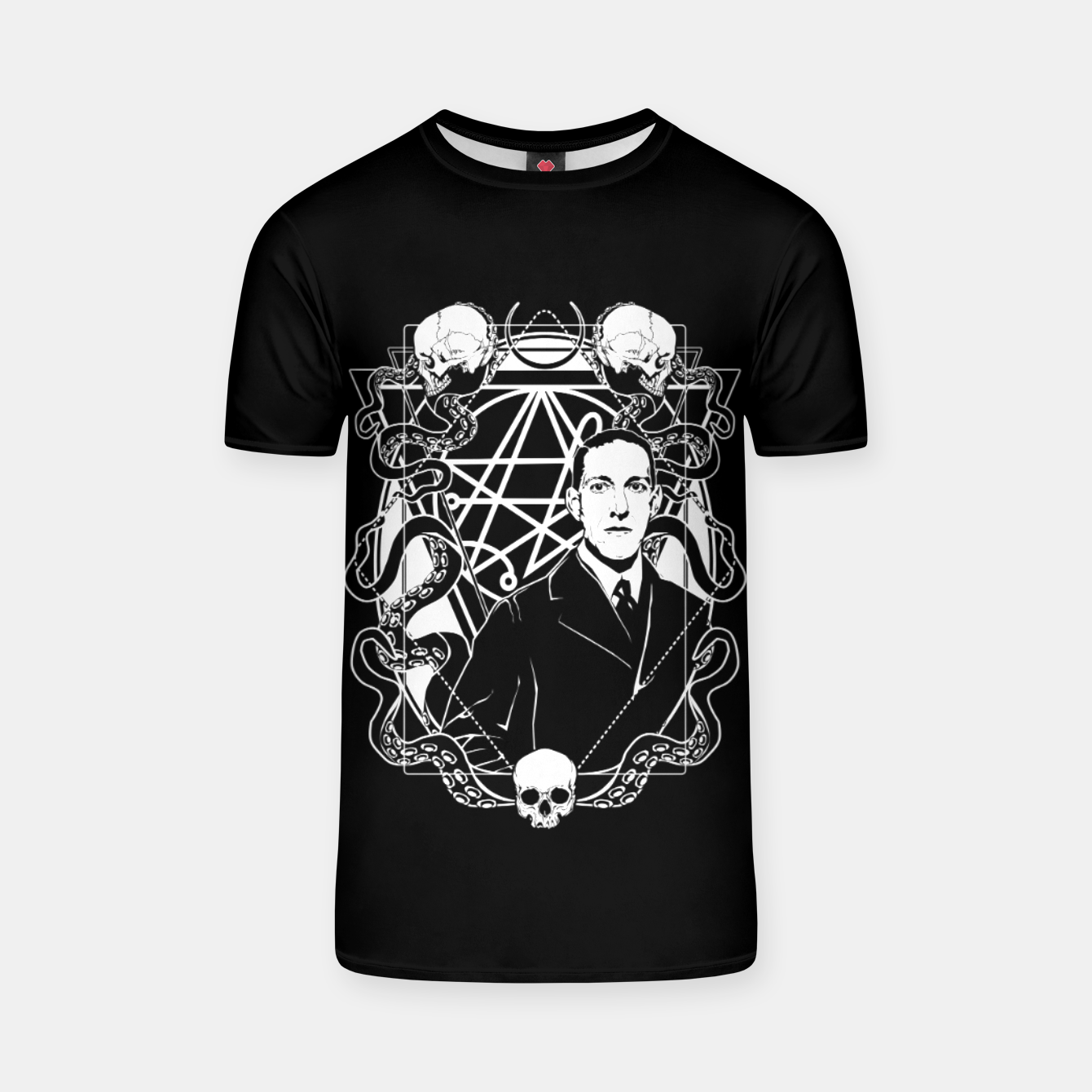 Image of H.P. Lovecraft T-shirt - Live Heroes