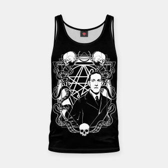 Thumbnail image of H.P. Lovecraft Tank Top, Live Heroes
