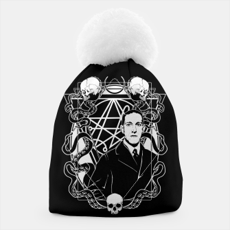 Thumbnail image of H.P. Lovecraft Beanie, Live Heroes