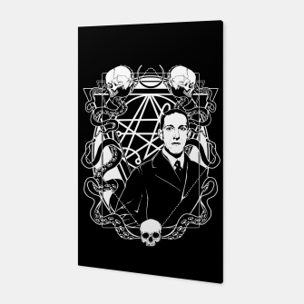 H.P. Lovecraft Canvas thumbnail image