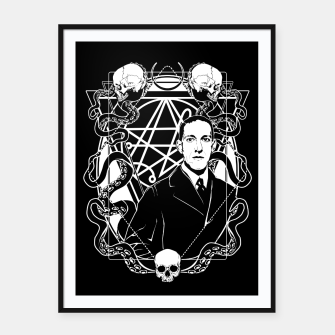 H.P. Lovecraft Framed poster thumbnail image