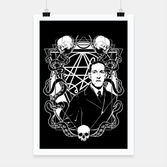 Thumbnail image of H.P. Lovecraft Poster, Live Heroes